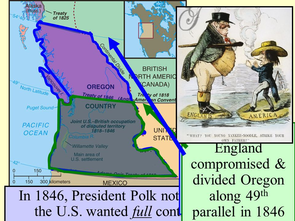The Oregon Boundary Dispute