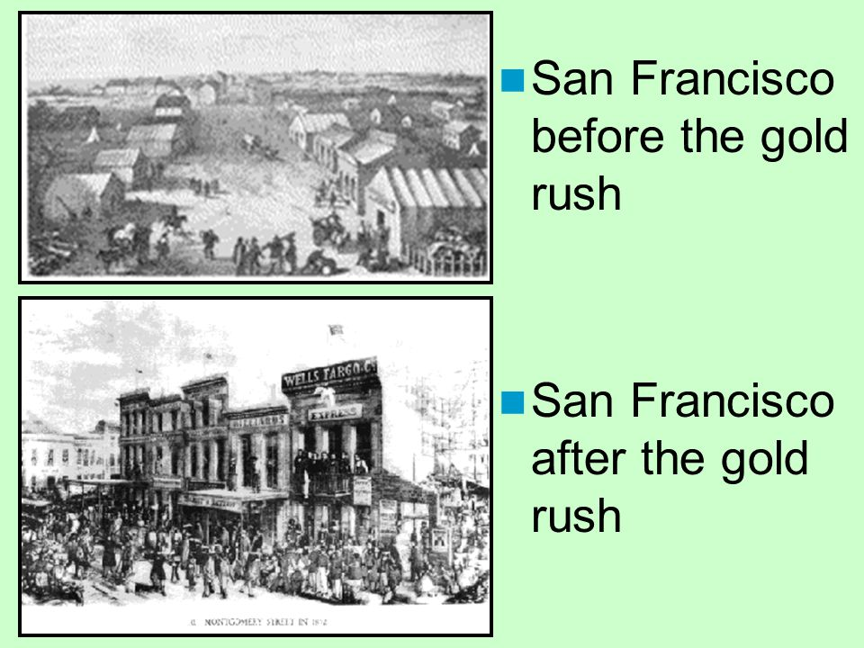 San Francisco before the gold rush