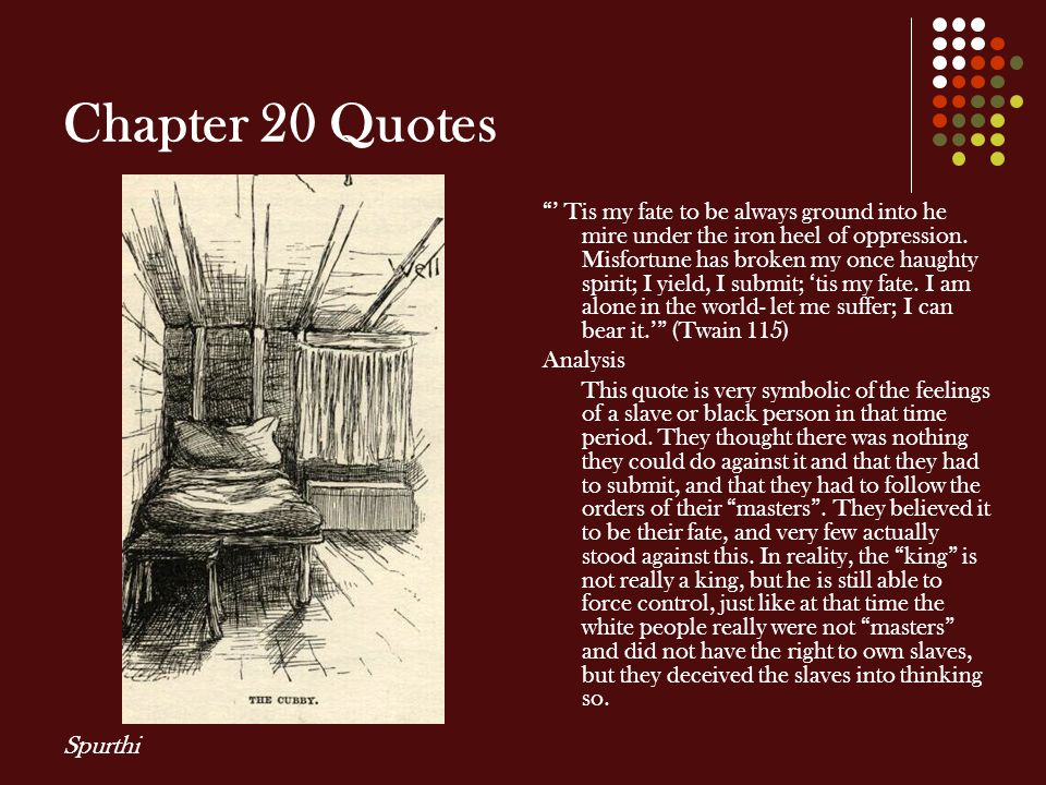 Chapter 20 Quotes Spurthi