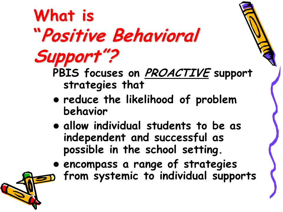 What is Positive Behavioral Support