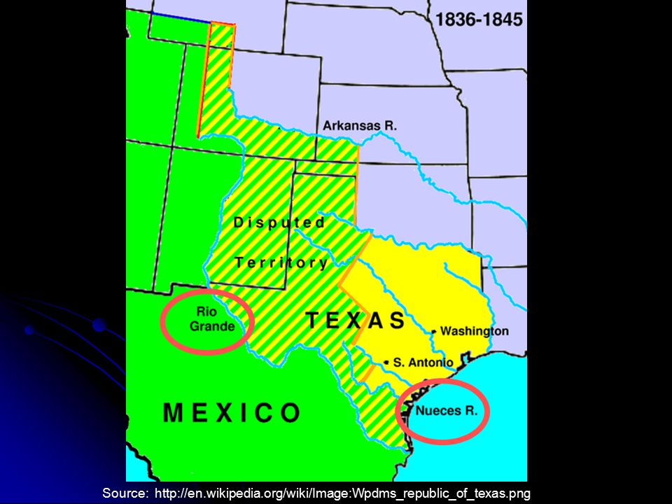 Source: http://en.wikipedia.org/wiki/Image:Wpdms_republic_of_texas.png