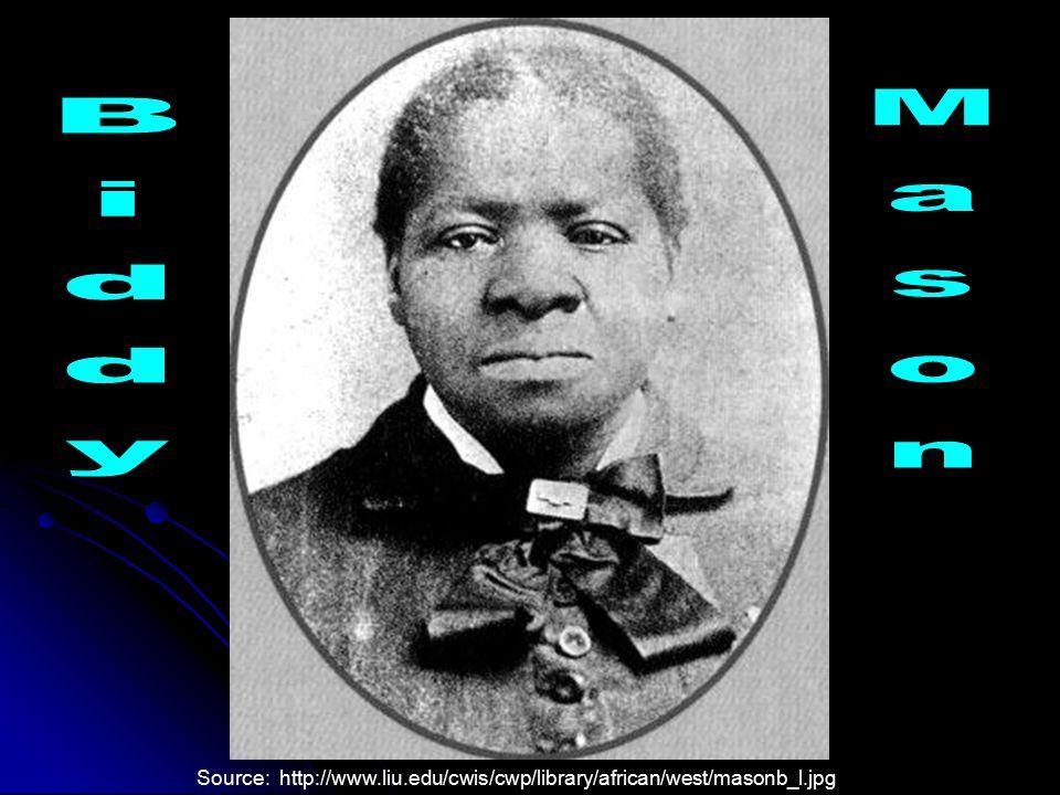 Mason Biddy Source: http://www.liu.edu/cwis/cwp/library/african/west/masonb_l.jpg
