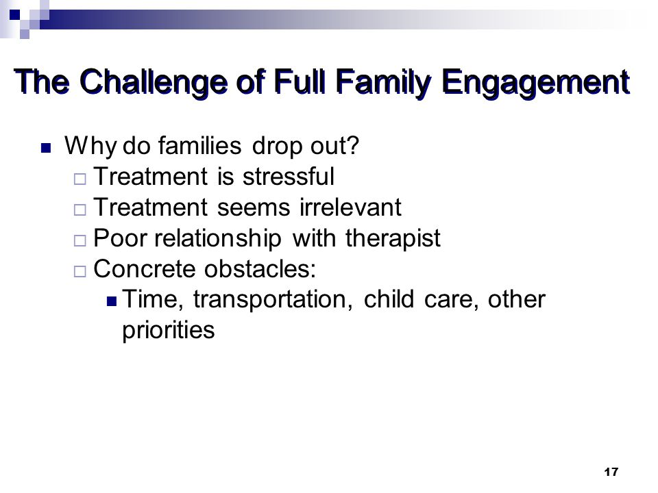 The Challenge of Full Family Engagement