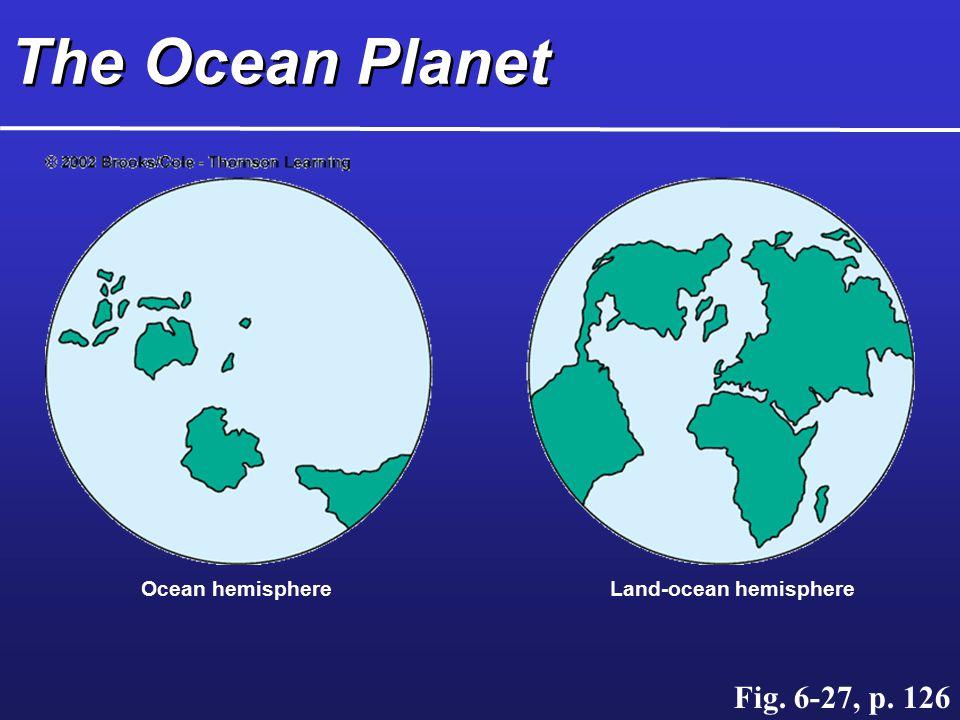 Land-ocean hemisphere