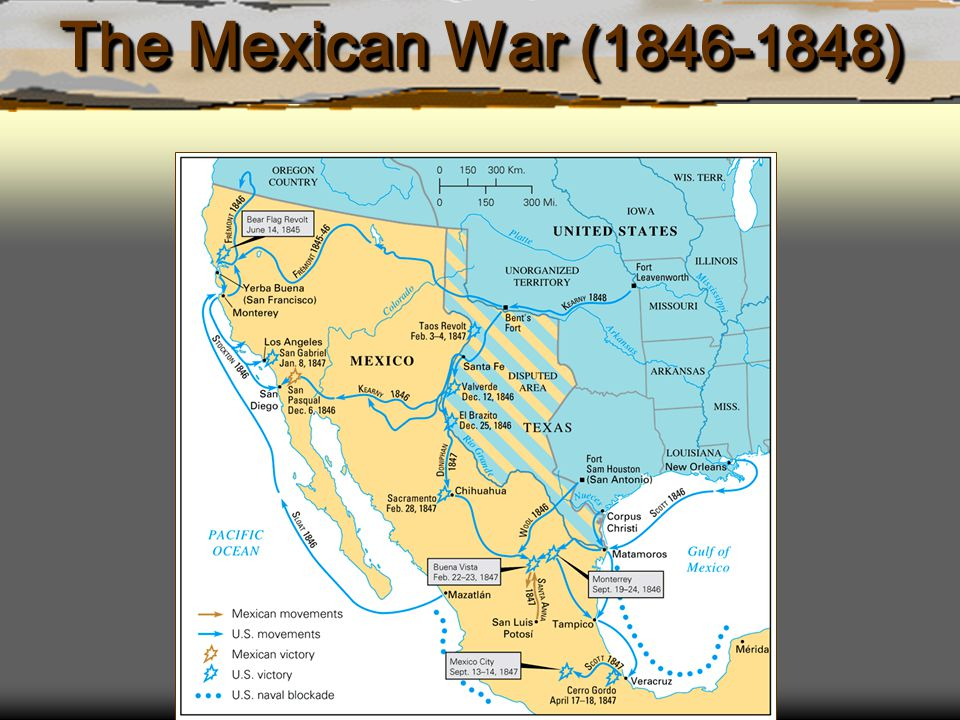 The Mexican War (1846-1848)
