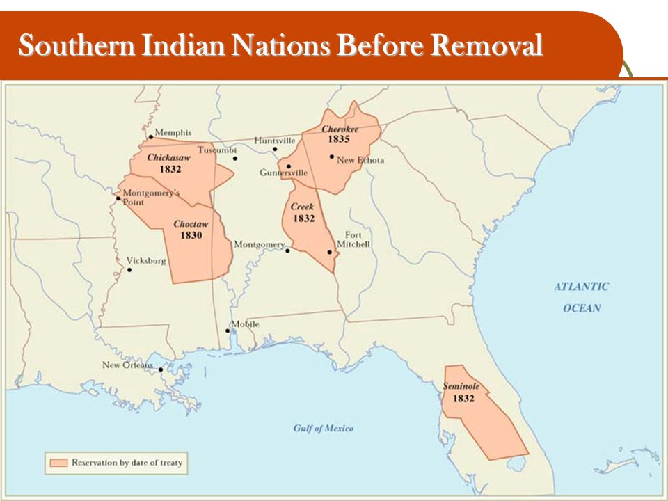 Southern Indian Nations Before Removal