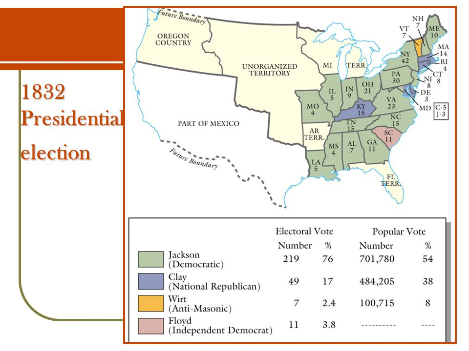 1832 Presidential election
