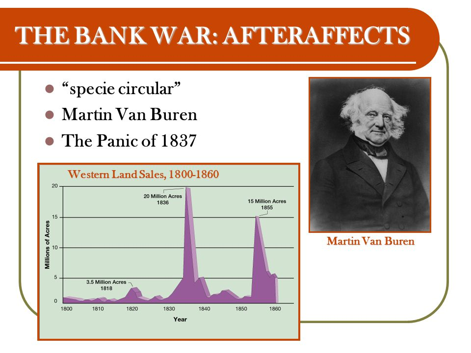 THE BANK WAR: AFTERAFFECTS