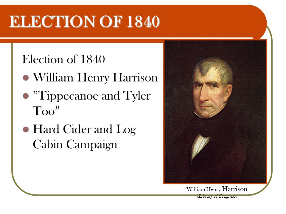 William Henry Harrison (Library of Congress)