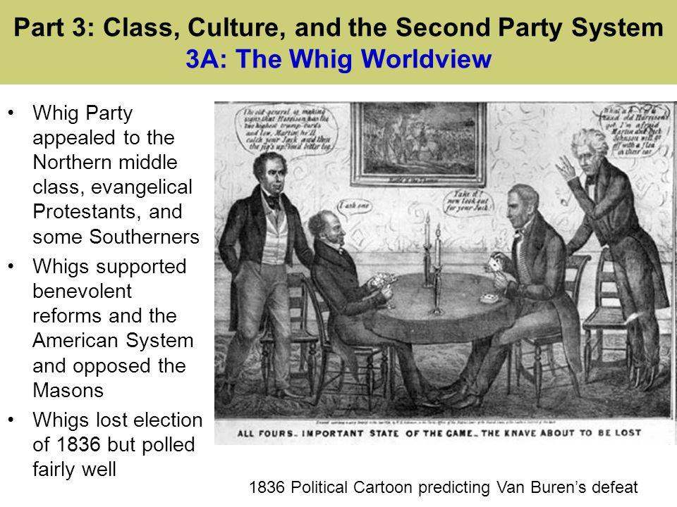 1836 Political Cartoon predicting Van Buren's defeat