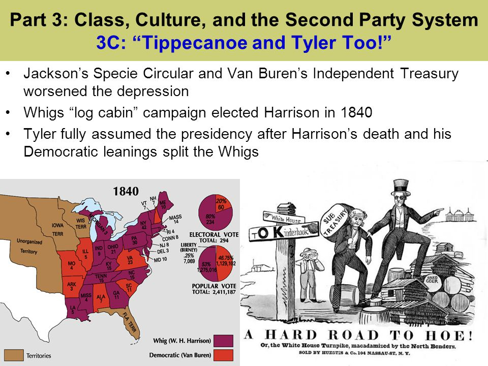 Part 3: Class, Culture, and the Second Party System 3C: Tippecanoe and Tyler Too!