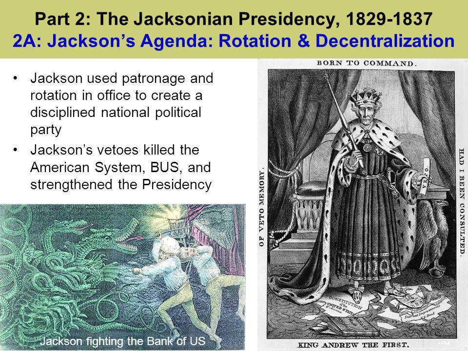 Jackson fighting the Bank of US