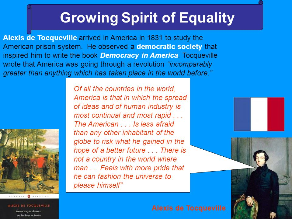 Growing Spirit of Equality