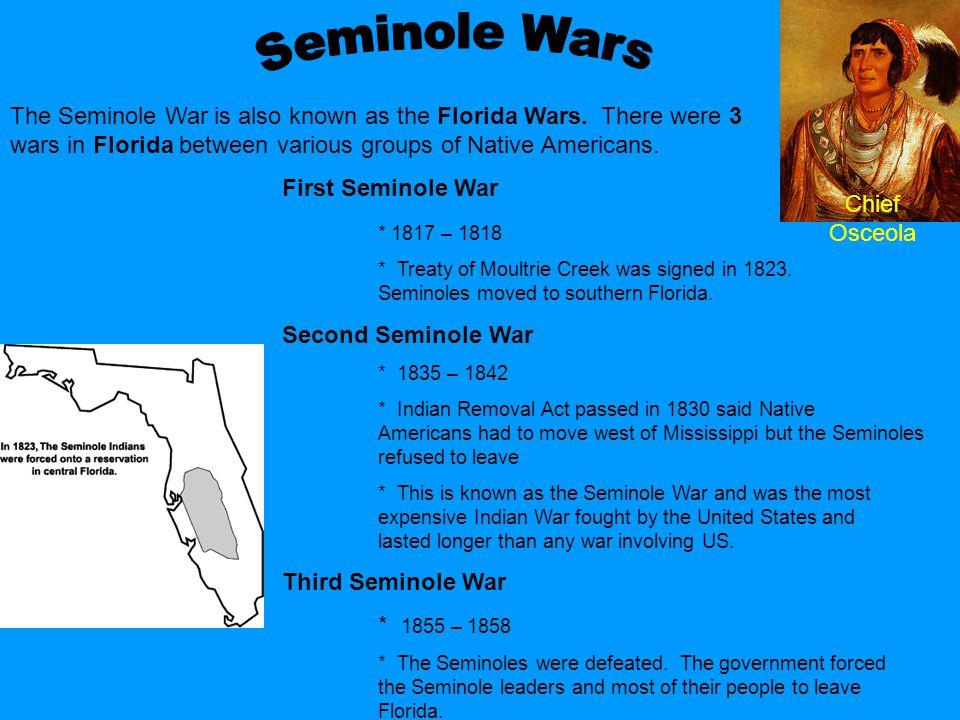 Chief Osceola Seminole Wars.