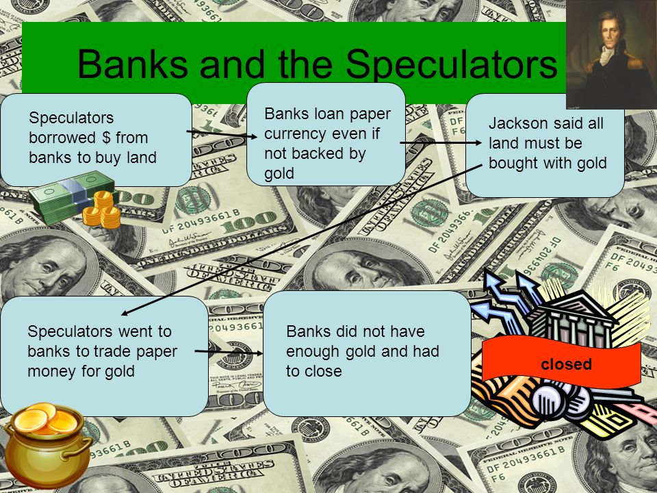 Banks and the Speculators