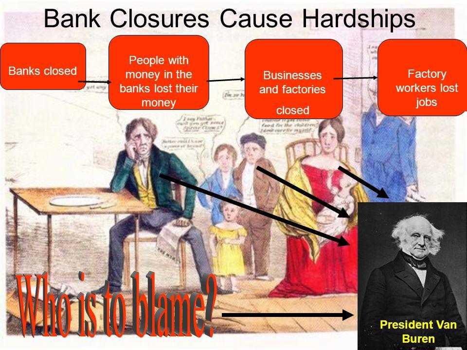 Bank Closures Cause Hardships