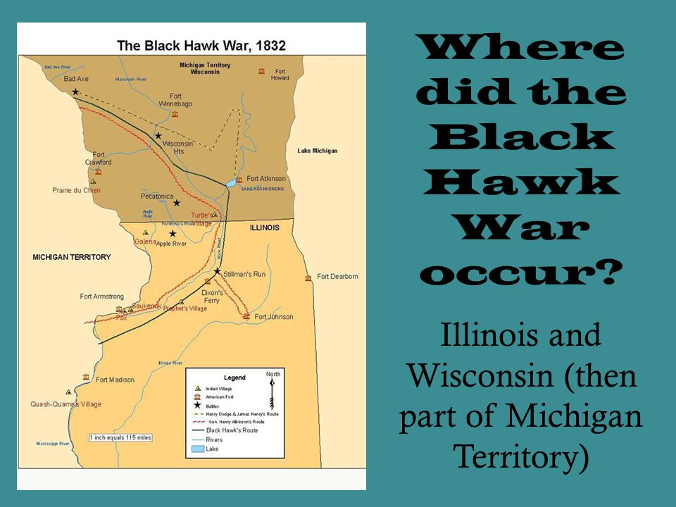 Where did the Black Hawk War occur