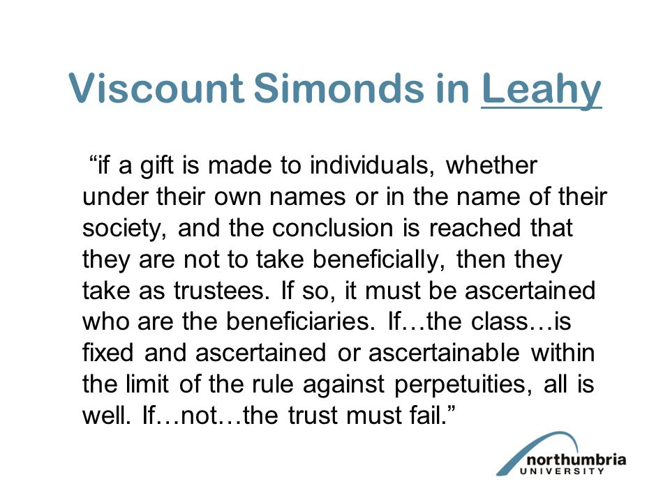 Viscount Simonds in Leahy