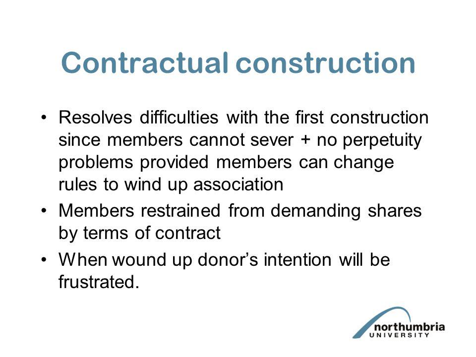 Contractual construction
