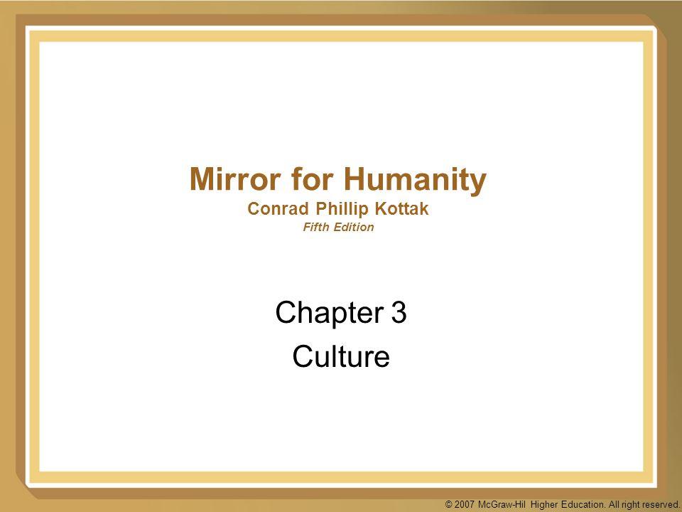 Mirror for Humanity Conrad Phillip Kottak Fifth Edition