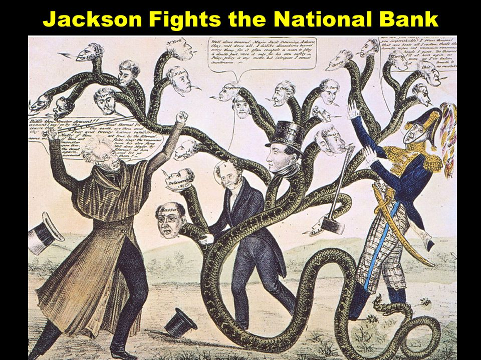 Jackson Fights the National Bank