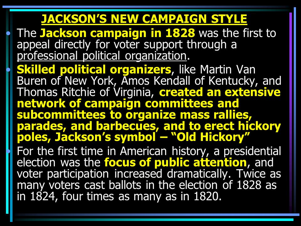 JACKSON'S NEW CAMPAIGN STYLE