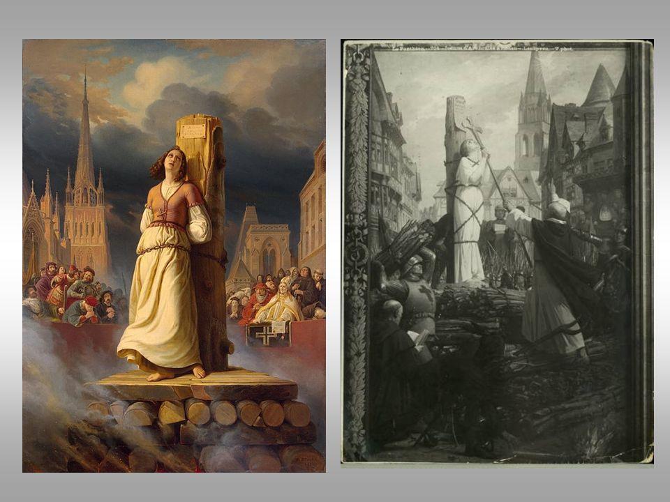 Joan of Arc entered Comiegne outside Paris and was taken prisoner