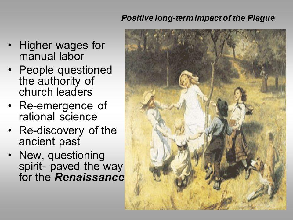 Positive long-term impact of the Plague