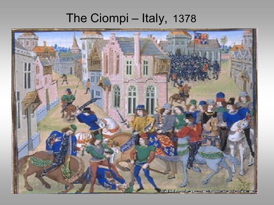 The Ciompi – Italy, 1378