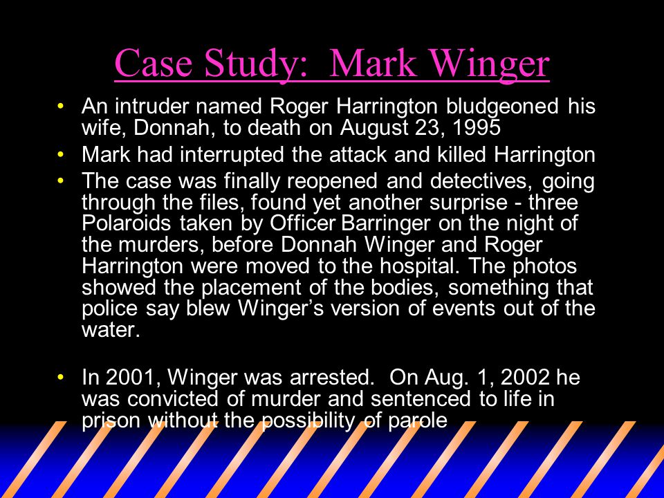 Case Study: Mark Winger