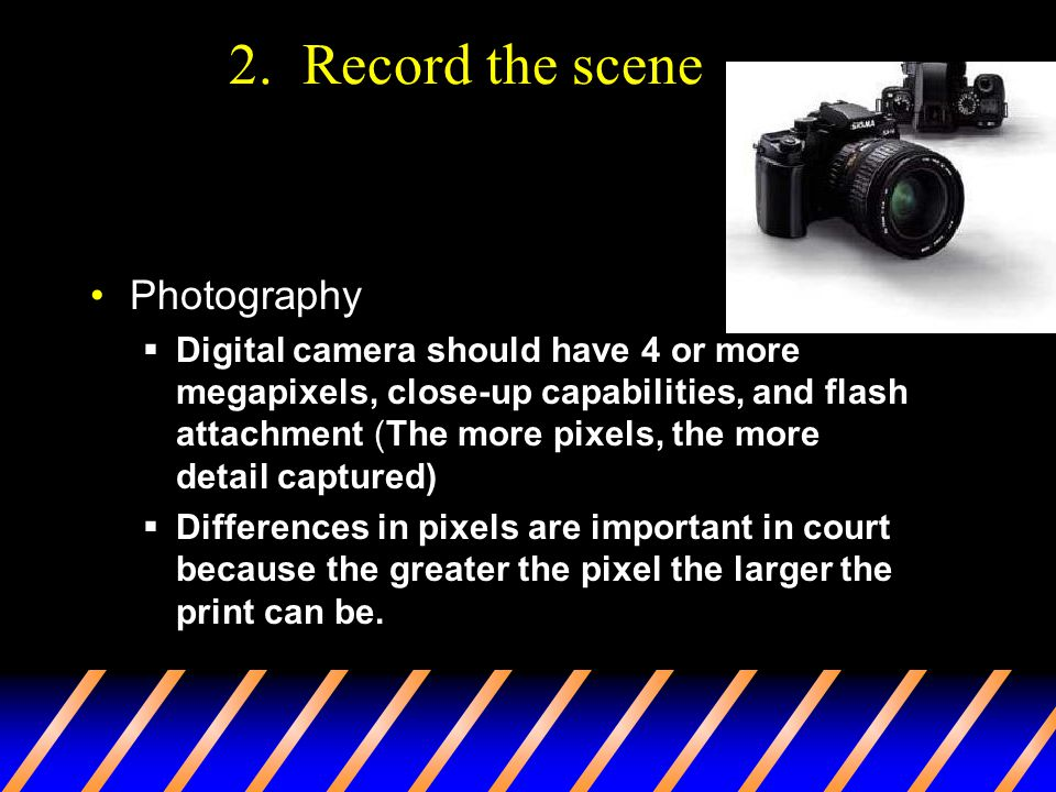 2. Record the scene Photography