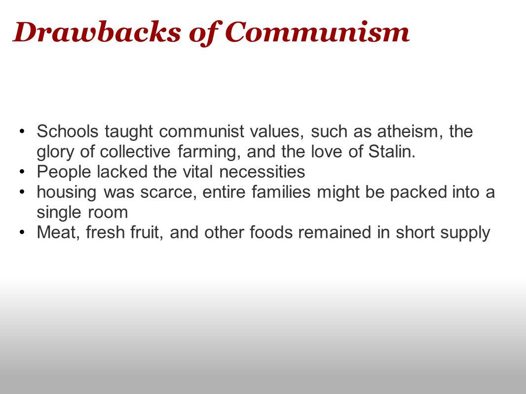Drawbacks of Communism