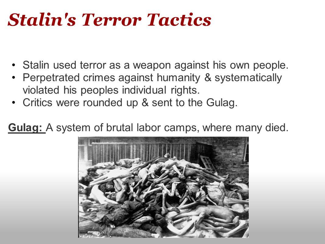 Stalin s Terror Tactics