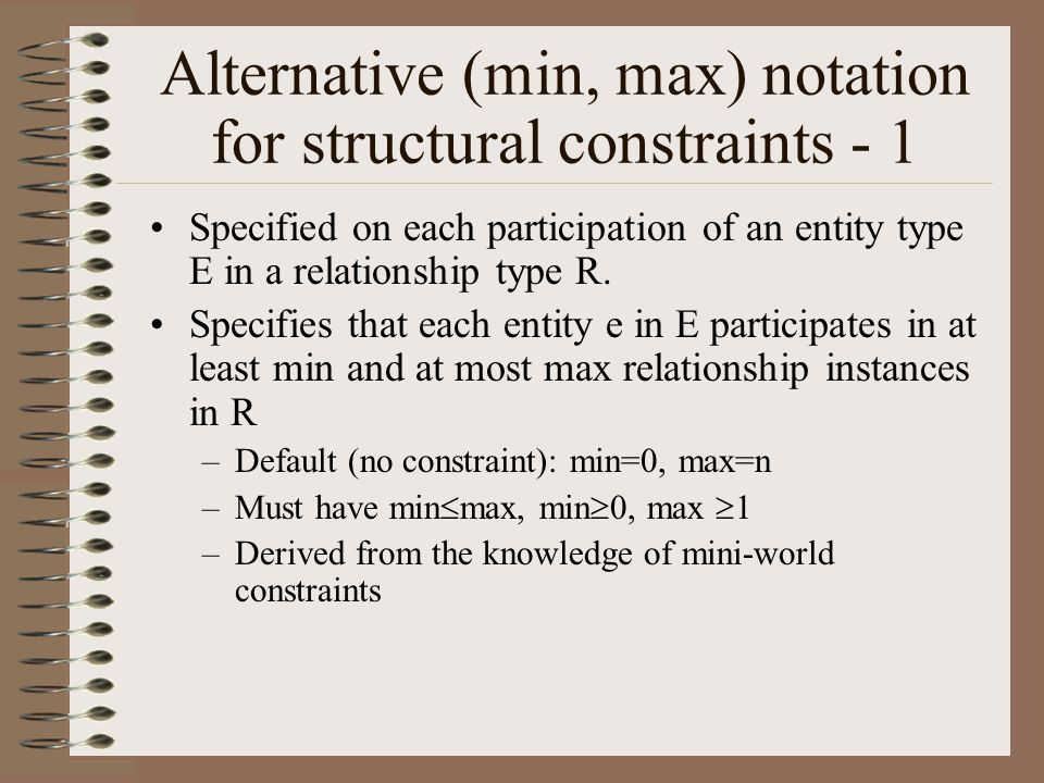 Alternative (min, max) notation for structural constraints - 1
