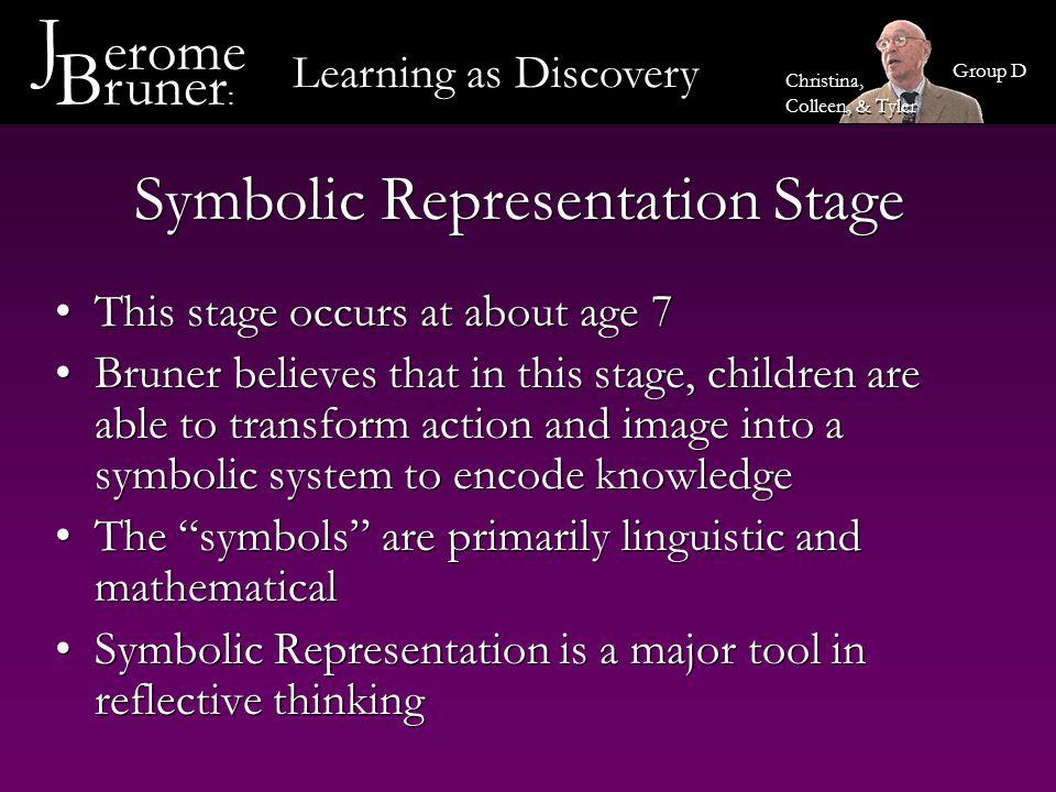 Symbolic Representation Stage