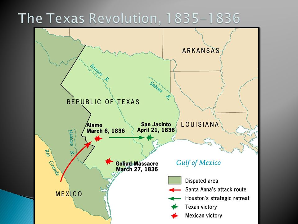 The Texas Revolution, 1835-1836