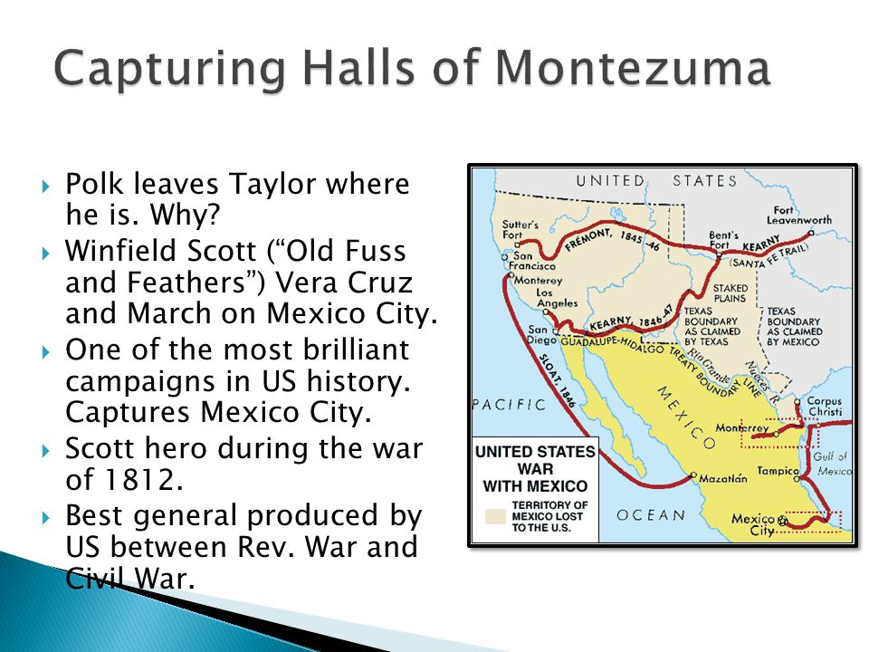 Capturing Halls of Montezuma