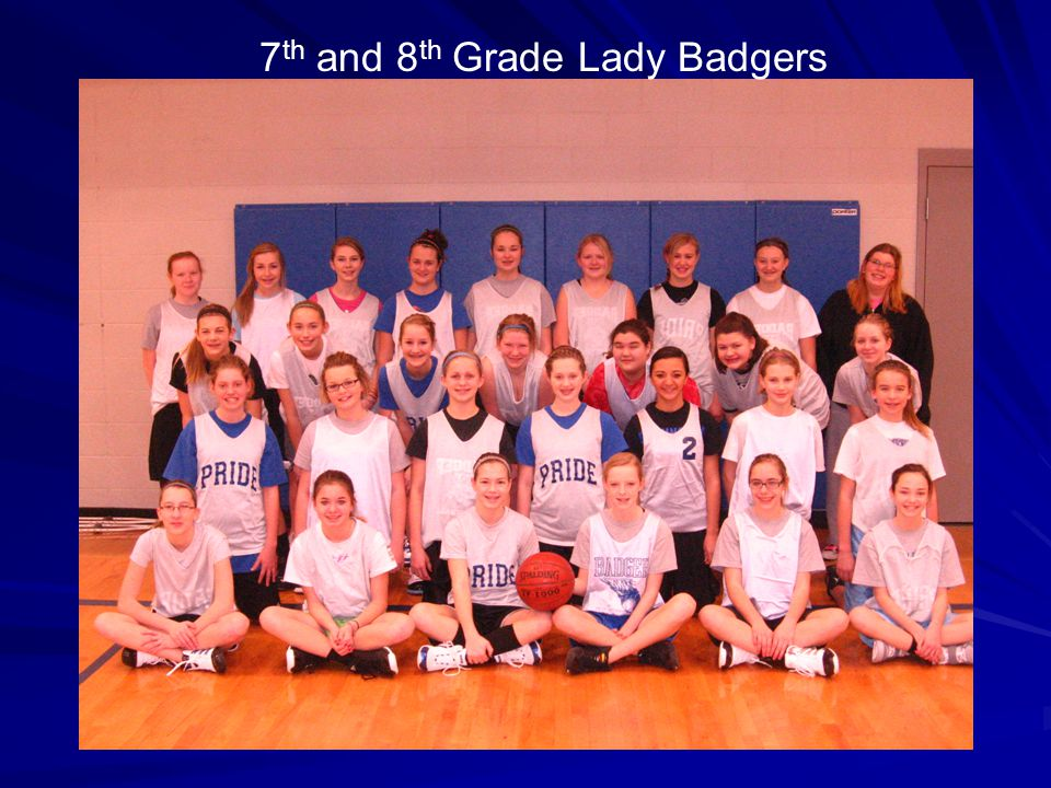 7th and 8th Grade Lady Badgers