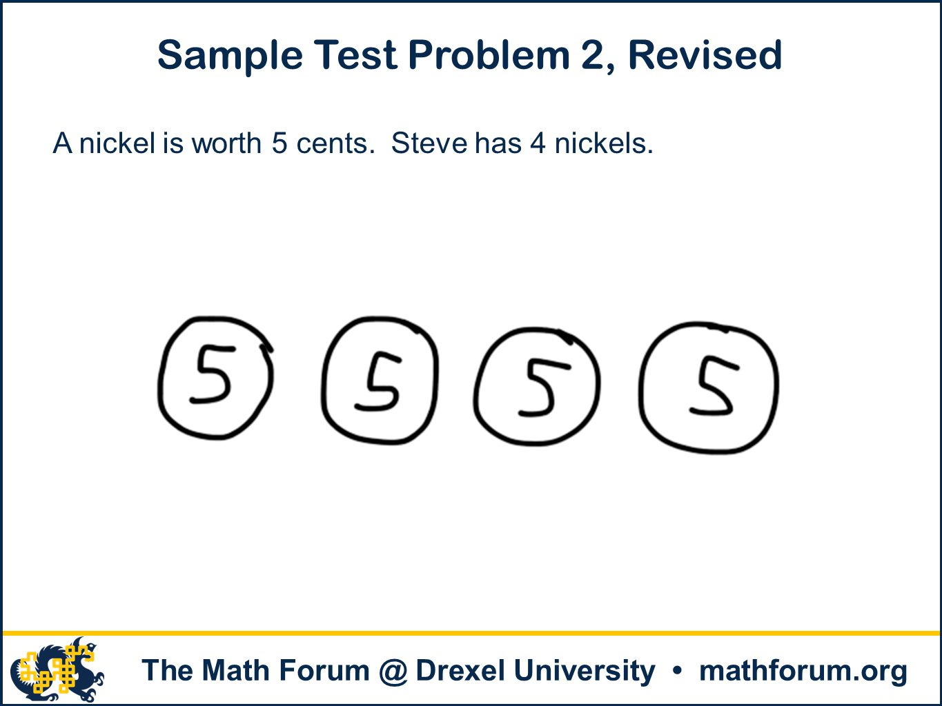 Sample Test Problem 2, Revised
