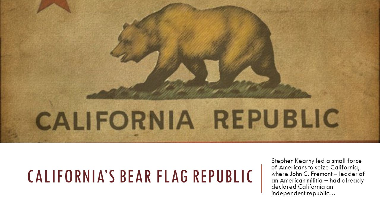 California's bear flag republic