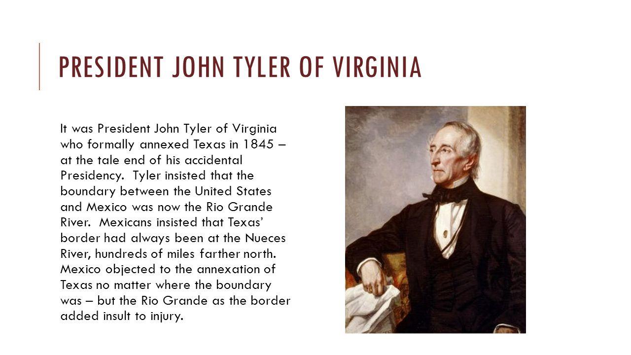 President John Tyler of Virginia