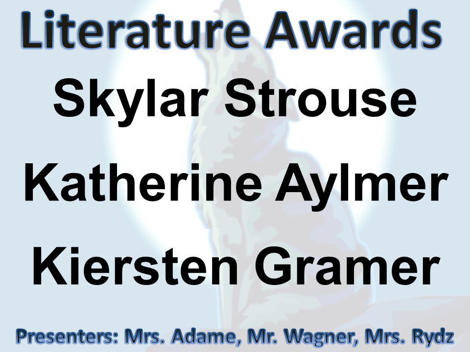 Presenters: Mrs. Adame, Mr. Wagner, Mrs. Rydz