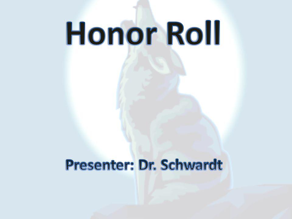 Presenter: Dr. Schwardt