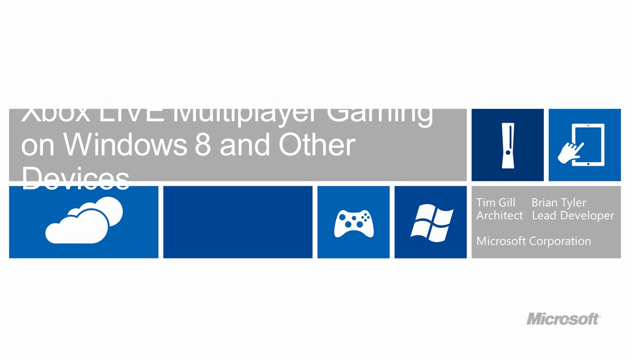 Xbox LIVE Multiplayer Gaming on Windows 8 and Other Devices