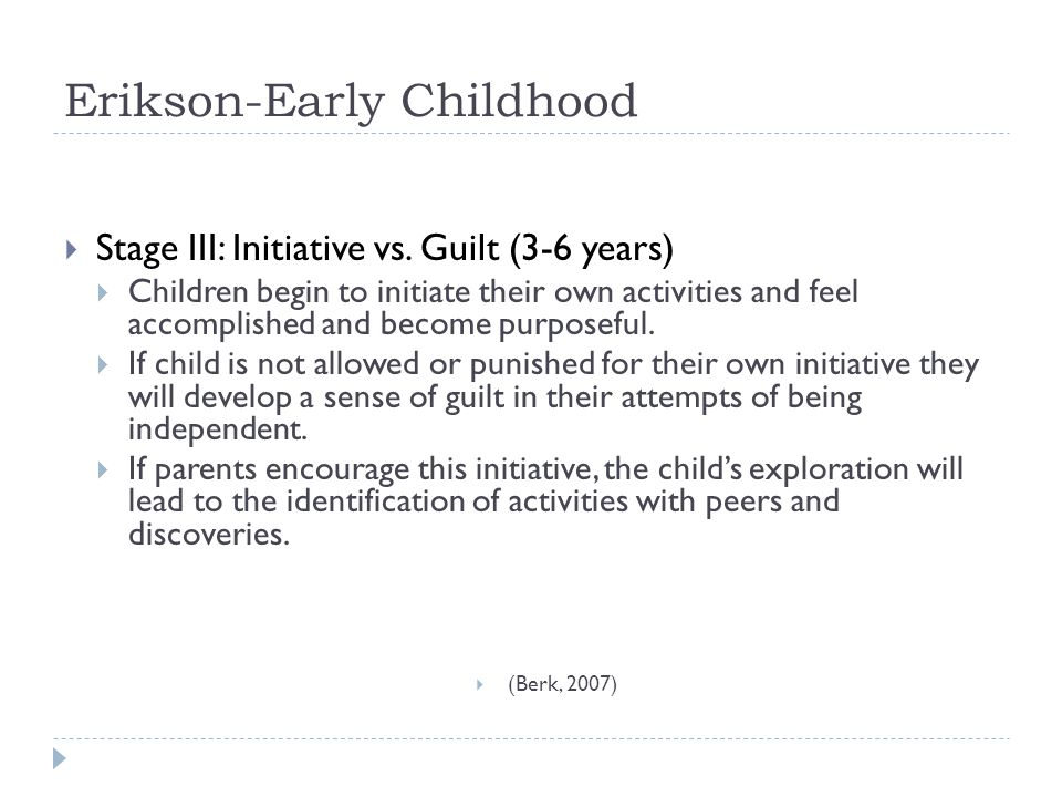 Erikson-Early Childhood
