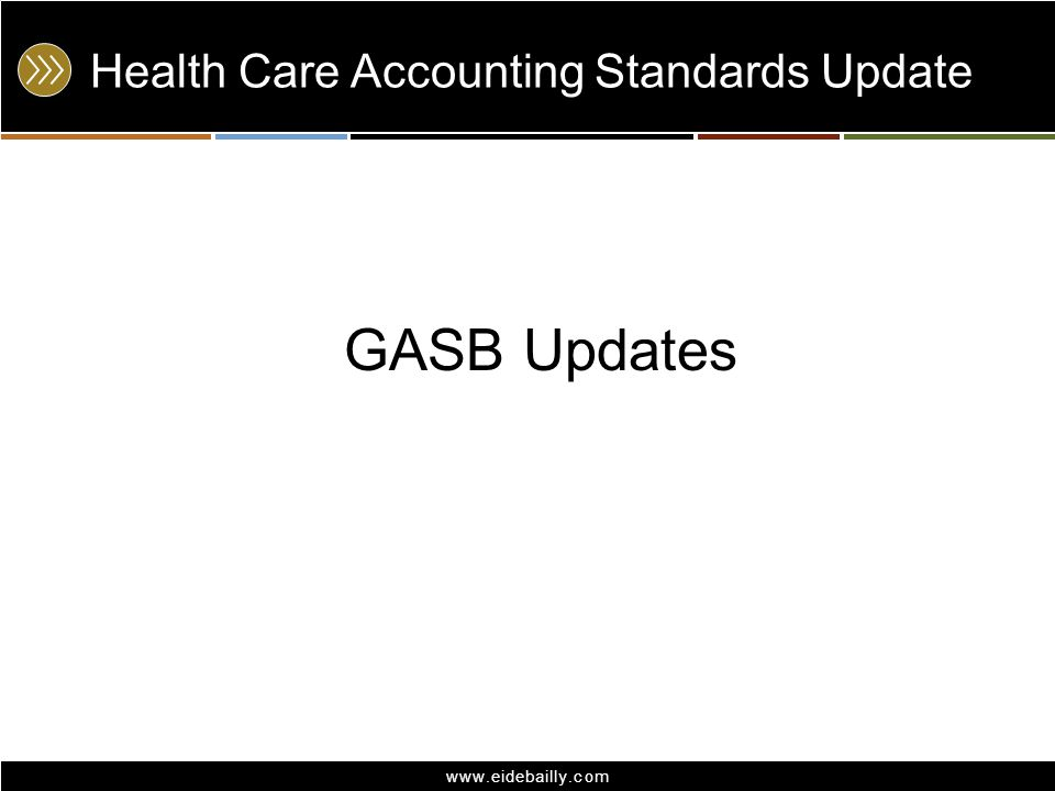 Health Care Accounting Standards Update