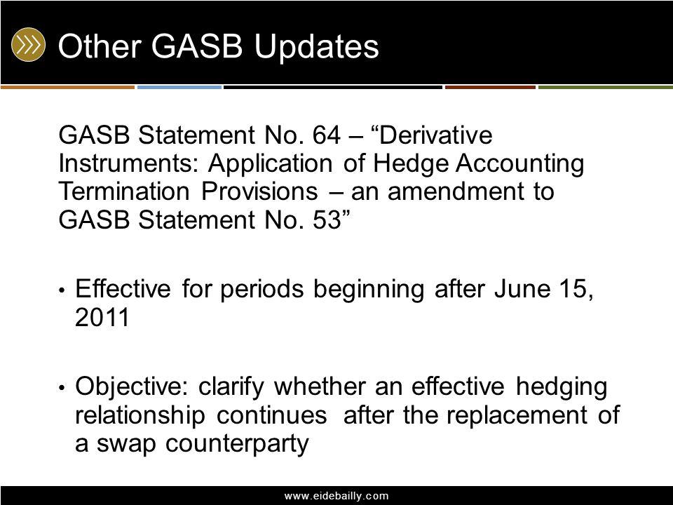 Other GASB Updates