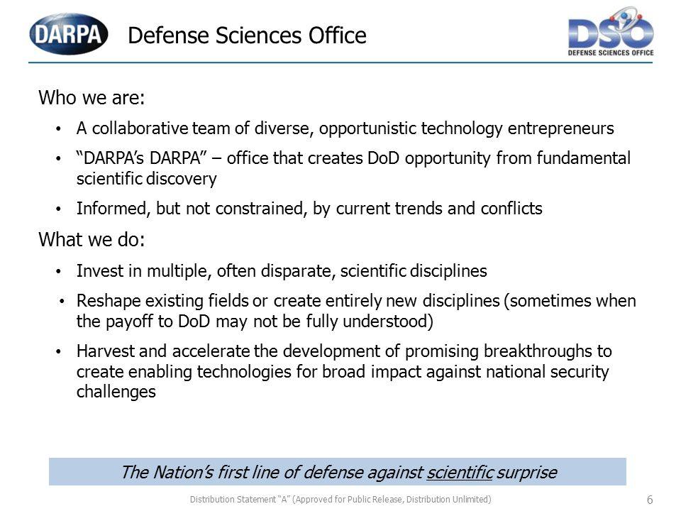 Defense Sciences Office