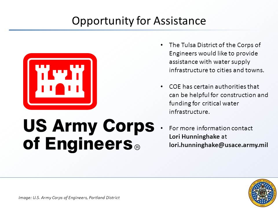 Opportunity for Assistance