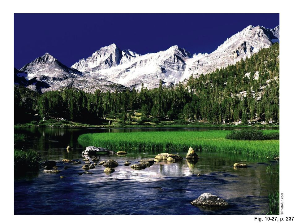 Figure 10-27: The John Muir Wilderness in the U. S